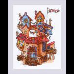 """Набор для вышивания """"Сказочный домик"""" """"Риолис"""""""