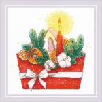 """Набор для вышивания """"Новогоднее письмо"""" """"Риолис"""""""