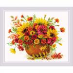 """Набор для вышивания """"Осенние цветы"""" """"Риолис"""""""