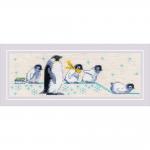 """Набор для вышивания """"Пингвинчики"""" """"Риолис"""""""