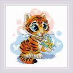 """Набор для вышивания """"Любопытный тигрёнок"""" """"Риолис"""""""