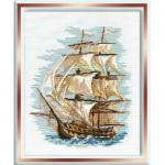 """Набор для вышивания """"Корабль"""" """"Риолис"""""""