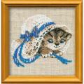 """Набор для вышивания """"Котёнок в шляпе"""" """"Риолис"""""""