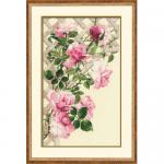 """Набор для вышивания """"Розовые розы"""" """"Риолис"""""""