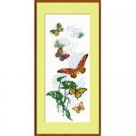 """Набор для вышивания """"Экзотические бабочки"""" """"Риолис"""""""