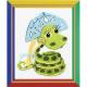 """Набор для вышивания """"Новогодняя змейка"""" """"Риолис"""""""