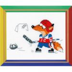 """Набор для вышивания """"Хоккей"""" """"Риолис"""""""