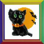 """Набор для вышивания """"Чёрный кот"""" """"Риолис"""""""