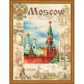 """Набор для вышивания """"Города мира. Москва"""" """"Риолис"""""""