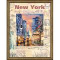 """Набор для вышивания """"Города мира. Нью Йорк"""" """"Риолис"""""""