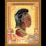 """Набор для вышивания """"Африканская принцесса"""" """"Риолис"""""""