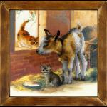 """Набор для вышивания """"Козленок и котята"""" """"Риолис"""""""
