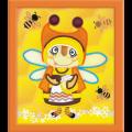 """Набор для вышивания бисером """"Бабушка пчела"""" """"Риолис"""""""