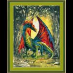 """Набор для вышивания """"Лесной дракон"""" """"Риолис"""""""