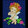 """Набор для вышивания """"Ангел с розами"""" """"RTO"""""""
