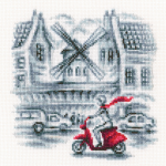 "Набор для вышивания C332 ""На улицах Парижа"" ""RTO"""