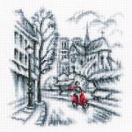 "Набор для вышивания C334 ""На улицах Парижа"" ""RTO"""