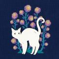 """Набор для вышивания CBE9001 """"Кошка"""" """"RTO"""""""