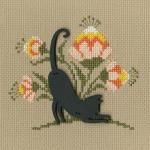 """Набор для вышивания CBE9002 """"Кошка"""" """"RTO"""""""