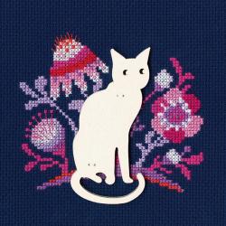 """Набор для вышивания CBE9005 """"Кошка"""" """"RTO"""""""
