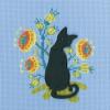 """Набор для вышивания CBE9008 """"Кошка"""" """"RTO"""""""