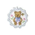 """Набор для вышивания с декоративной рамкой """"Медвежонок"""" """"RTO"""""""