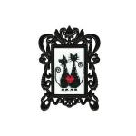 """Набор для вышивания с декоративной рамкой """"Коты"""" """"RTO"""""""