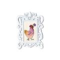 """Набор для вышивания с декоративной рамкой """"Курочка с цветком"""" """"RTO"""""""