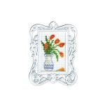 """Набор для вышивания с декоративной рамкой """"Тюльпаны"""" """"RTO"""""""