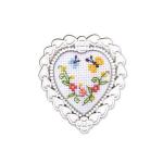 """Набор для вышивания с декоративной рамкой """"Бабочки"""" """"RTO"""""""