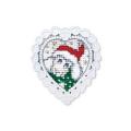 """Набор для вышивания с декоративной рамкой """"Новогодняя овечка"""" """"RTO"""""""
