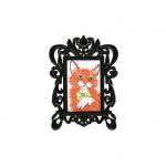 """Набор для вышивания с декоративной рамкой """"Рыжий кот"""" """"RTO"""""""
