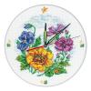 "Набор для вышивания Часы ""Цветочные часы"" ""RTO"""