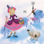 """Набор для вышивания Часы """"Пастушка и трубочист 1"""" """"RTO"""""""