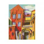 """Набор для вышивания """"Разноцветный дворик"""" """"RTO"""""""