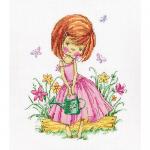 """Набор для вышивания """"Бабочки в моем саду"""" """"RTO"""""""