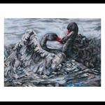"""Набор для вышивания """"Два черных лебедя"""" """"RTO"""""""
