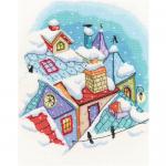 "Набор для вышивания ""Зима на крышах"" ""RTO"""