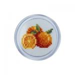 """Набор для вышивания с магнитной рамкой """"Апельсины"""" """"RTO"""""""