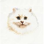 """Набор для вышивания """"Белый персидский кот"""" """"Thea Gourverneur"""""""