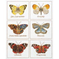 "Набор для вышивания ""Бабочки"" ""Thea Gourverneur"""
