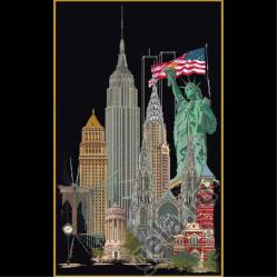 "Набор для вышивания ""Нью-Йорк"" ""Thea Gourverneur"""