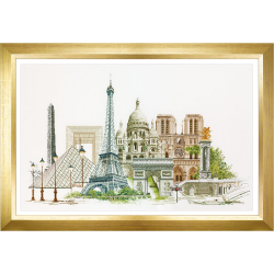 "Набор для вышивания ""Париж"" ""Thea Gourverneur"""