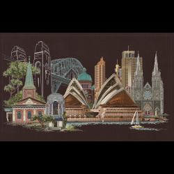 """Набор для вышивания """"Сидней"""" """"Thea Gourverneur"""""""