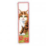 """Набор для вышивания Закладка """"Рыжий котенок"""" """"Vervaco"""""""