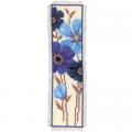 """Набор для вышивания Закладка """"Голубые цветы"""" """"Vervaco"""""""