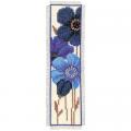"""Набор для вышивания Закладка """"Синие цветы"""" """"Vervaco"""""""