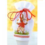 """Набор для вышивания Чехольчик для яйца """"Пасхальный кролик"""" """"Vervaco"""""""