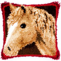 """Набор для вышивания Подушка """"Лошадь"""" 40х40см """"Vervaco"""""""