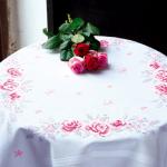 """Набор для вышивания Скатерть """"Розы"""" 80х80см """"Vervaco"""""""